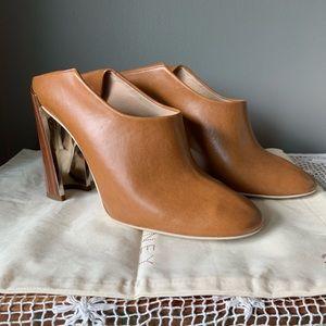 Stella McCartney sculpted heel mule/ pump 1377